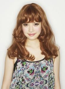 Hip Chick Wig Tokyo フェアリーミディアム オレンジミックス