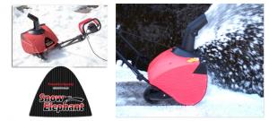 電動除雪機 スノーエレファント D-1000