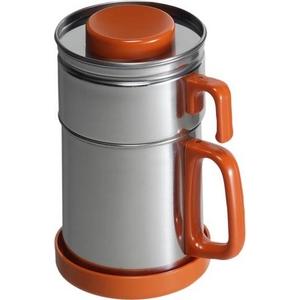油こし器カラーコスロン オレンジ